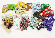 The Ultimate Single Portion Condiment and Hot Drinks Sachets Pack - 200  items