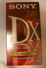 Sony - VHS DX Qualität 240 Minuten Video-kassette
