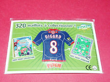 8 DIGARD PARIS SAINT-GERMAIN PSG FOOTBALL JUST FOOT MAGNETS 2008 PANINI