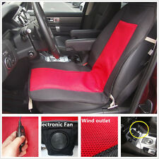 Seat Cushion PAD Cover Relax Electric Fan Cool Air Ventilation Cool Comfort Auto