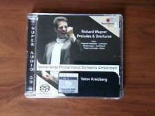 WAGNER -NETHERLANDS PH.ORCH.AMSTERDAM-PRELUDES & OVERTURES-PENTATONE SACD