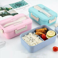 Microwave Bento Lunch Box Picnic Food Fruit Container Storage Box For Kids Adul
