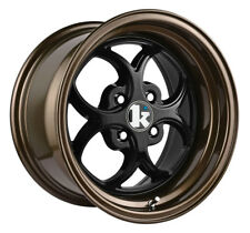 Klutch 1266 SL2 Black Bronze Wheels ET15 (16x8/4x100)
