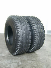 2 Reifen 10.0 / 75 - 15 Reifen 10.0/75-15.3 Ackerwagen Reifen 10-15  Kipper AW