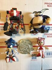 ReSaurus Sonic Lot E-102 Gamma Sonic Amy Big Action Figure Sonic Adventure RARE