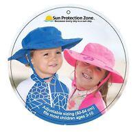 Sun Protection Zone Kids UPF 50+ Adjustable Child Safari Beach Park Picnic Hat