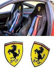 Seats Logo Badge for Ferrari F430 Spider 430 Scuderia 488 GTB California 599 GTB