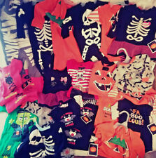 HALLOWEEN BABY CLOTHES LOT OF OVER 40 OUTFITS TOTAL NEW WITH TAGS 0-3 MONTHS +