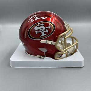 George Kittle Signed Autographed SF 49ers FLASH Mini Helmet Beckett BAS