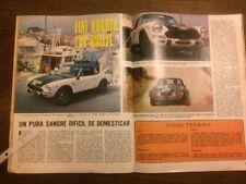 Reportaje Automóvil Fiat Abarth 124 Rallye De 1974