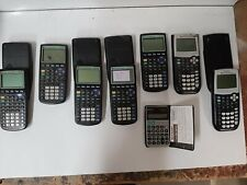 Lot Texas Instrument Graphing Calculators for parts or repair As Is Sharp El344g