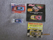 Lot of 4 Mini Race Cars - Kellogg's, Country Time, Wheaties, and Pillsbury SIP!