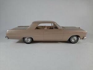 Vtg 1965 Ford Fairlane 500 Promo Plastic Car