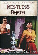 RESTLESS BREED WESTERN DVD - SCOTT BRADY, ANNE BANCROFT, JIM DAVIS, BOB STEELE