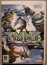 Jeu TMNT LES TORTUES NINJA - Nintendo Wii - Français (PAL) - Complet