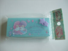 NEW!! Sanrio Little Twin Stars Kawaii Accessory Case Cosmetic Case/Kiki & Lala