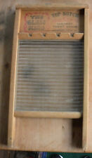 Vintage National Washboard Co. Model 860- The Glass King- Collectable