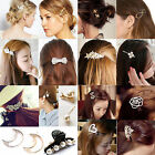32 Styles Diamante Crystal Rhinestone Flower Barrette Hair Clip Clamp Hairpin NE