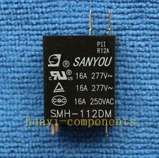 1pcs SMH-112DM SANYOU 12VDC Relay NEW