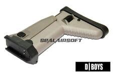 SCAR Side Folding Stock for D-BOYS(Gen III) / CyberGun MK16 MK17 Airsoft AEG TAN