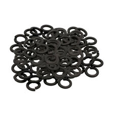 "1/16"" Black Oxide Medium Split Tattoo Machine Lock Steel Washers Pack 10 Pieces"