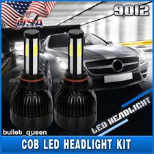 9012 4-Sides CREE LED Headlight Kit 6000K Bulbs for 2014 2015 GMC Sierra 1500