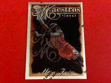 1996-97 Topps Finest ?Maestros? Michael Jordan #127 Insert Card; EX+/NM