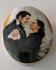 1991 Gone With The Wind wind up Music box The Proposal number 387D