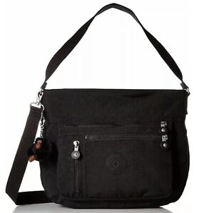 KIPLING HB7499 BLACK ELODY LARGE CROSSBODY Handbag