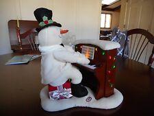 Hallmark® Jingle Pals 2005 Piano snowman- Animation Not Working. Music/Lights Do