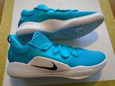 New Nike Hyperdunk 2018 X Low TB Promo Blue Aqua Men's Size 15 Shoes AT3867-402