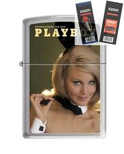 Zippo 4757 Playboy March 1967 Lighter with *FLINT & WICK GIFT SET*