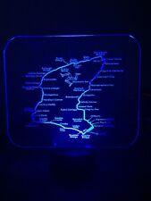 3D LED Isle of Man TT Engraved Acrylic Christmas Gift Manx,Suzuki,Norton