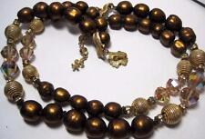 vintage VENDOME Beads Necklace double strand