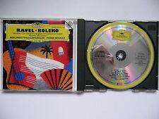 Boulez conducts Ravel Bolero Ma Mere l'Oye Rapsodie Espagnole BPO DG 439 859 CD