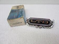 NOS  1969 1970 Ford LTD Door Panel Emblem C9AZ-5720802-A dp