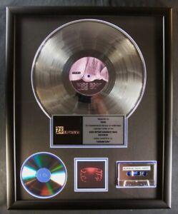 Tool Undertow LP, Cassette, CD Platinum Non RIAA Record Award Zoo Entertainment