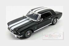 Ford Usa Mustang 1/2 Hard-Top 1964 Black White MotorMax 1:18 MTM73164BK
