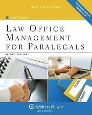 Law Office Management for Paralegals, Second Edition Aspen College
