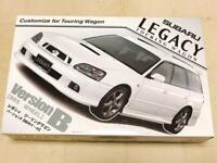 Fujimi Subaru Legacy Touring Wagon VersionB BBS Wheel 1/24 Model Kit #14585