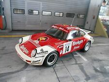 PORSCHE 911 Carrera SC/RS Rallye Ypern 1985 #14 Droogmans Belga OTTO RAR 1:18