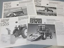 8 John Deere Implement & Machinery Brochures Good Mix