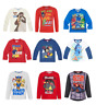 Boys Kids Official Licensed Disney Various Long Sleeve T Shirt Top 2 - 10