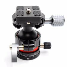 E2 mini Tripod Head Ballhead with Quick Release Plate For Camera.