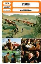 AVIATOR - DiCaprio,Blanchett,Beckinsale,Baldwin,Law,Scorsese (Fiche Cinéma) 2004
