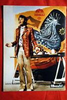 JOHNNY HALLYDAY BACK M.DRAVIC COVER 1970 EXYU MAGAZINE