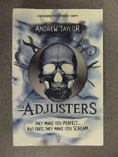 The Adjusters by Andrew Taylor * Proof * P/B pub Usborne* £3.25 Uk Post *