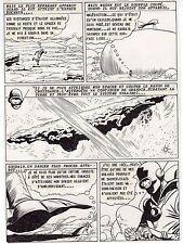 LE MONDE QUI GRANDISSAIT  PLANCHE DE MONTAGE AVENTURES FICTION 1958  PAGE 5