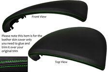 Green stitch Speedo gauge capuche cuir couvrir fits PORSCHE CAYENNE 2002-2010