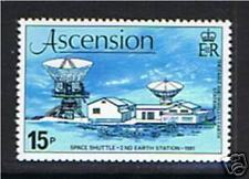 Ascension 1981 Space Shuttle SG 281 MNH